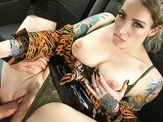 FakeTaxi – Ava Austen – Hard pussy pounding for Ava Austin