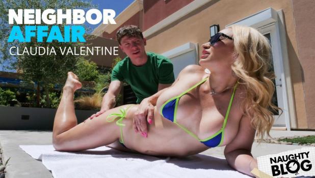 NeighborAffair – Claudia Valentine – Kristen Connor (Claudia Valentine) fucks neighbor in the bathroom