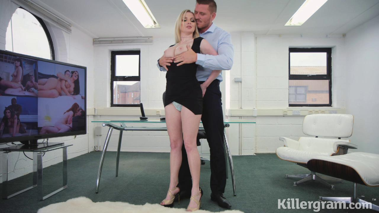Georgie Lyall Hot Babe In The Office